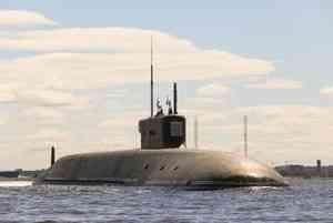Подводный ракетоносец «Князь Владимир» вышел из Северодвинска в Белое море