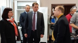 Начался рабочий визит врио Губернатора Архангельской области Александра Цыбульского в САФУ