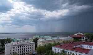 1 июля в Архангельске будет тепло и пасмурно