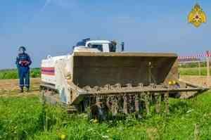Пиротехники Центра «Лидер» приступают к разминированию полей в Тверской области