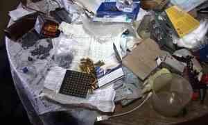 Внушительный арсенал оружия изъяли ужителя Архангельска