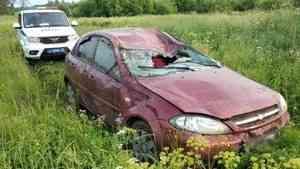 Легковушка слетела с трассы в Архангельской области из-за пьяного водителя