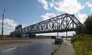Завтра нажелезнодорожном мосту Архангельска начнутся ремонтные работы