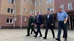 Александр Цыбульский оценил состояние социальных объектов в Мирном