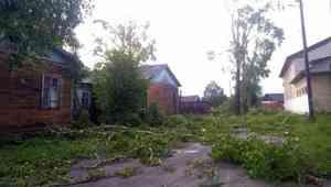Самый сильный удар непогоды пришелся на Пинежский район
