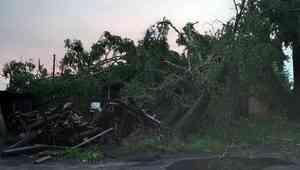 Пронесшийся по Пинеге шторм поставил под угрозу проведение ЕГЭ в сурской школе