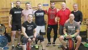 Призёр Олимпийских игр Дмитрий Клоков встретился с тяжелоатлетами Архангельска