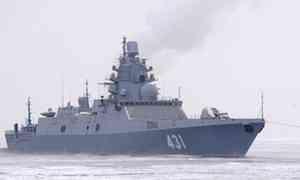 Всередине июля Северный флот пополнит новый ракетный фрегат