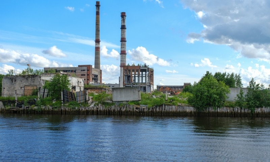 Обломки советского наследия: Архангельский гидролизный завод