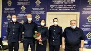 В Архангельске состоялся торжественный приём на службу юных следователей