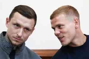 Мосгорсуд отменил приговор футболистам Кокорину и Мамаеву