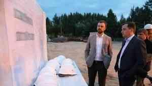 Александр Цыбульский: «Первого сентября следующего года дети села Ровдино должны пойти в новую школу»