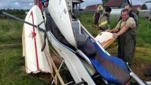 На озере Лахта под Архангельском упал в воду при взлете частный гидроплан