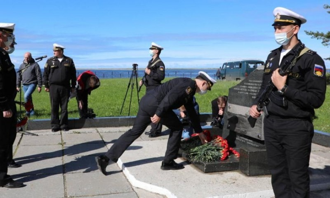 ВСеверодвинске почтили память военных моряков, погибших наатомной подводной лодке «Курск»