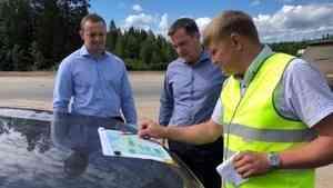 Состояние дороги Архангельск – Онега обсудили Владимир Путин и Александр Цыбульский