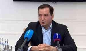 Избранный губернатор— Александр Цыбульский сегодня провёл первую пресс-конференцию