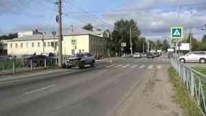 Водитель «Фиата» попал в больницу после ДТП в Архангельске