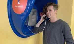 «Ростелеком» подарил Архангельскому колледжу телекоммуникаций таксофон, чтобы студенты могли бесплатно звонить родным
