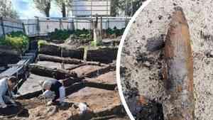 В Архангельске откопали зенитный снаряд рядом с местом строительства ЖК River Park
