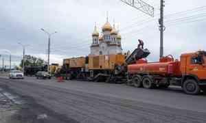 Федеральный ревизор проверил качество ремонта дорог в Архангельске