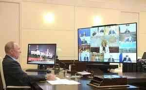 Евгений Зиничев доложил Владимиру Путину о ликвидации последствий паводка в ДФО и пожаров в Воронежской области