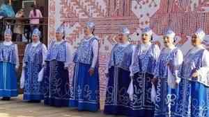 Яркая ярмарка прошла на площади у Исакогорско-Цигломенского культурного центра в столице Поморья