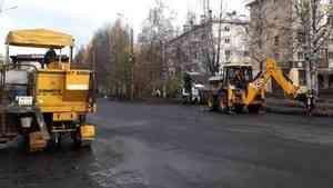 Затянувшийся «кольцевой» ремонт в центре Архангельска обещают завершить в октябре