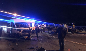 ВДТП сучастием маршрутки вАрхангельске пострадали пять человек.