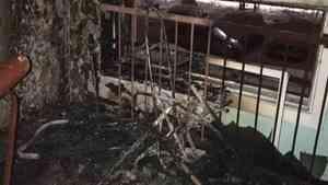 В Северодвинске в подъезде жилого дома сгорели две детские коляски