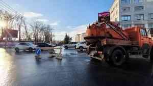 Жители полутора десятков домов в центре Архангельска лишились воды из-за ЧП у мэрии
