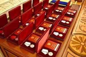 Спасатели Челябинской области получили государственные награды за ликвидацию последствий ЧС в Магнитогорске