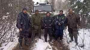 В Холмогорском районе нашли мужчину, который пробыл в лесу четыре ночи