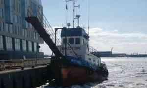 В Архангельске на зимнюю уборку причалов потратят 280 тысяч рублей