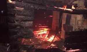 Впосёлке вВельском районе в деревянном доме взорвался газовый баллон. Погиб мужчина