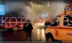 Всамом крупном торгово-развлекательном комплексе Котласа произошёл серьёзный пожар