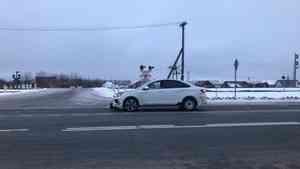 В Архангельске насмерть сбили женщину, переходившую дорогу в неположенном месте