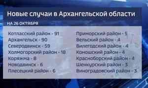 312 случаев коронавируса запоследние сутки выявлено вПоморье