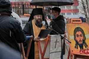 Архангелогородцы помянули жертв политических репрессий