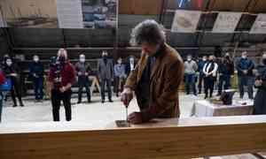 Четыре события наодной верфи: вАрхангельске заложили шхуну, открыли две выставки икультурное пространство