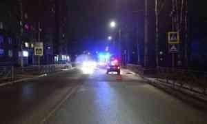 В Архангельске водитель иномарки сбил женщину  на пешеходном переходе