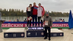 Байдарочник Семен Ситников - победитель первенства России