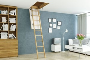 Востребованность чердачных лестниц в современном частном домостроении