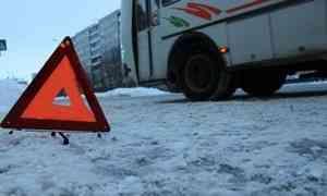 ВКотласском районе вДТП спассажирским автобусом пострадали пять человек