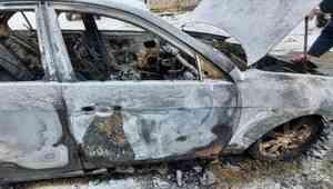 Поморские полицейские задержали поджигателей автомобиля