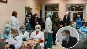 Руководитель минздрава Поморья выслушал жалобы медперсонала Коряжемской больницы