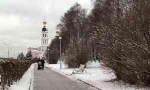 Небольшой снег и понижение температуры ожидается в регионе в эти выходные