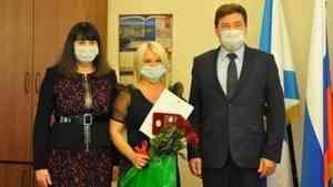 Звание «Почетный работник торговли Архангельской области» присвоено жительнице Новодвинска Ольге Мальгиной