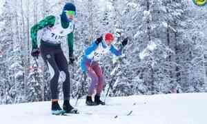 ВПриморском районе проходят областные соревнования полыжным гонкам