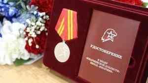 Юнармеец из Устьянского района Валерий Голубев отмечен знаком «Юнармейская доблесть» II степени