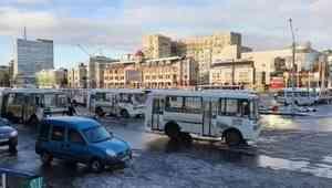 В Архангельске сдвинулось расписание двух левобережных маршрутов